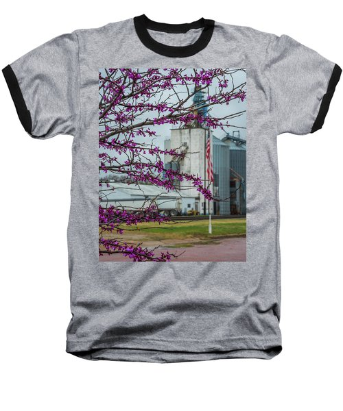 Baseball T-Shirt featuring the photograph Ellsworth Blooms by Darren White
