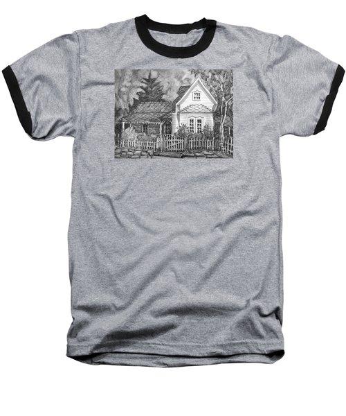 Elma's House In Bw Baseball T-Shirt