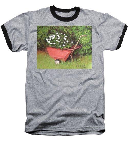 Eloise's Garden Cart Baseball T-Shirt