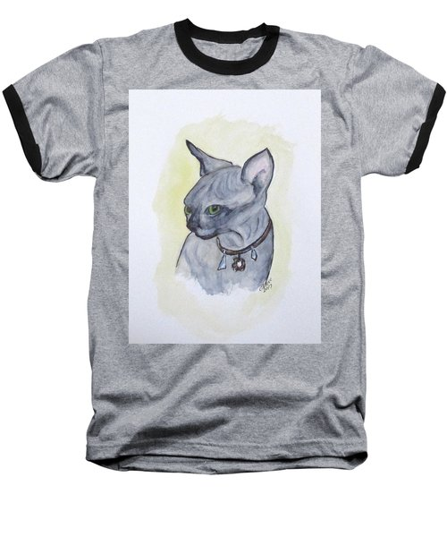 Else The Sphynx Kitten Baseball T-Shirt