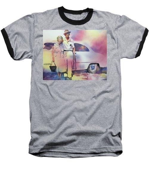Elsie And Barney Shields Baseball T-Shirt