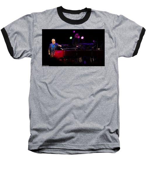 Elton - Enjoying The Show Baseball T-Shirt