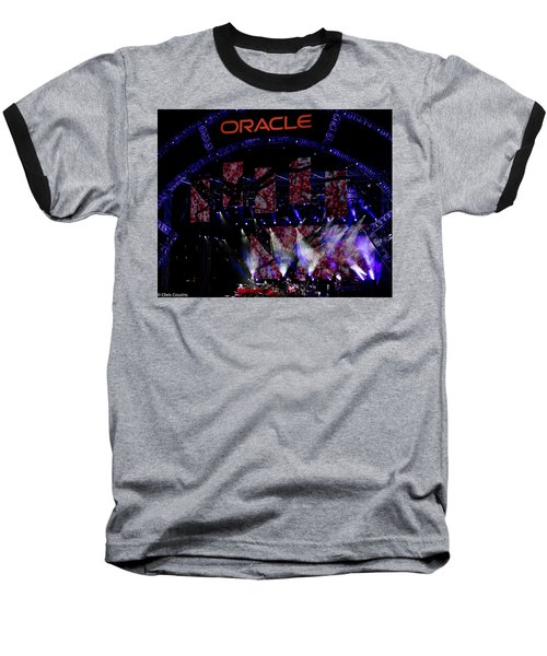 Elton John At Oracle Open World In 2015 Baseball T-Shirt