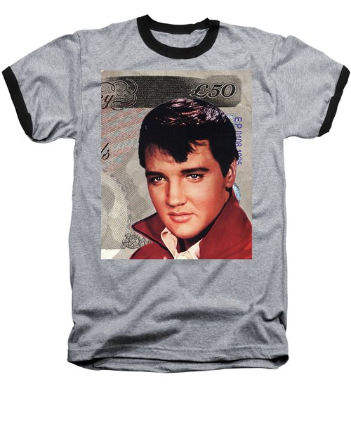 Elvis Presley Baseball T-Shirt by Unknown