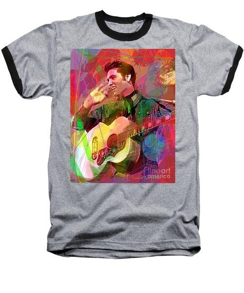 Elvis Rockabilly  Baseball T-Shirt