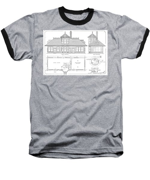 Elyria, Oh Station Baseball T-Shirt