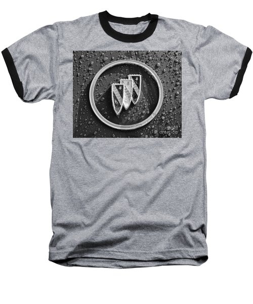 Baseball T-Shirt featuring the photograph Emblem Mono by Dennis Hedberg