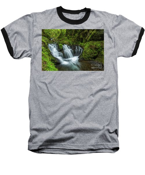 Emeral Falls Waterscape Art By Kaylyn Franks Baseball T-Shirt