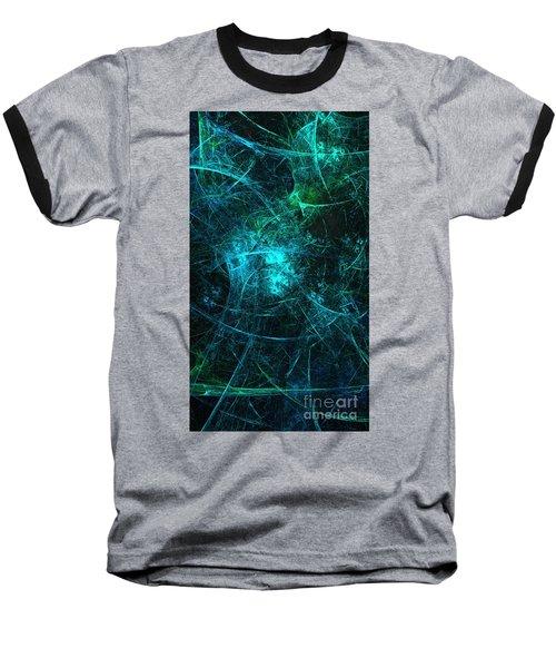 Emerald And Azure Align Baseball T-Shirt