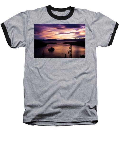 Emerald Bay Sunrise - Lake Tahoe, California Baseball T-Shirt