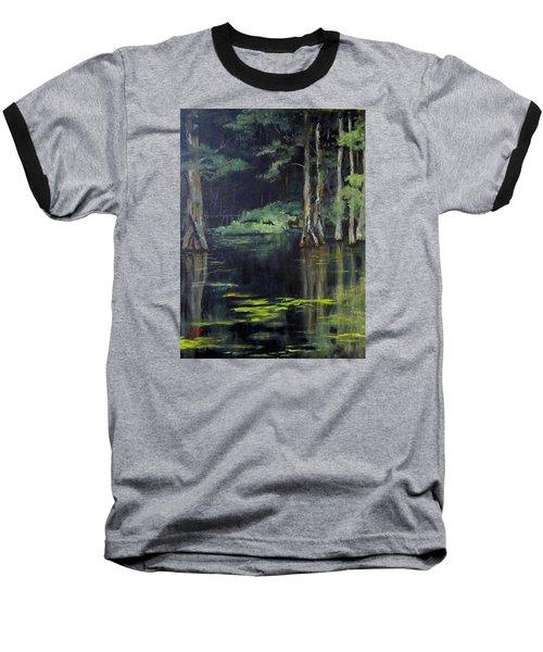 Emerald Bayou Baseball T-Shirt by Barbara O'Toole