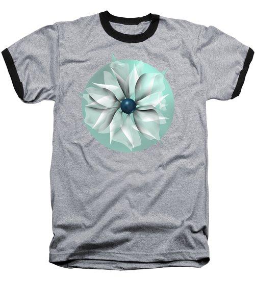 Emerald Flower Baseball T-Shirt