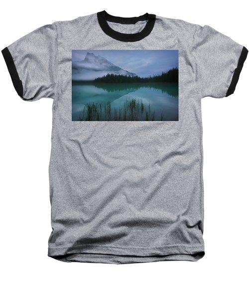 Emerald Lake Before Sunrise Baseball T-Shirt