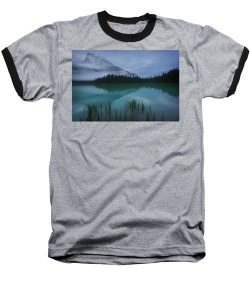 Emerald Lake Before Sunrise Baseball T-Shirt