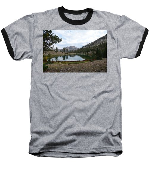 Baseball T-Shirt featuring the photograph Jarbidge Wilderness Emerald Lake by Jenessa Rahn