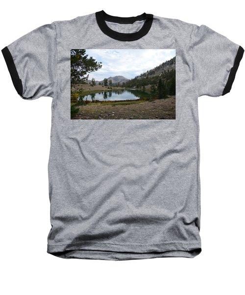 Jarbidge Wilderness Emerald Lake Baseball T-Shirt