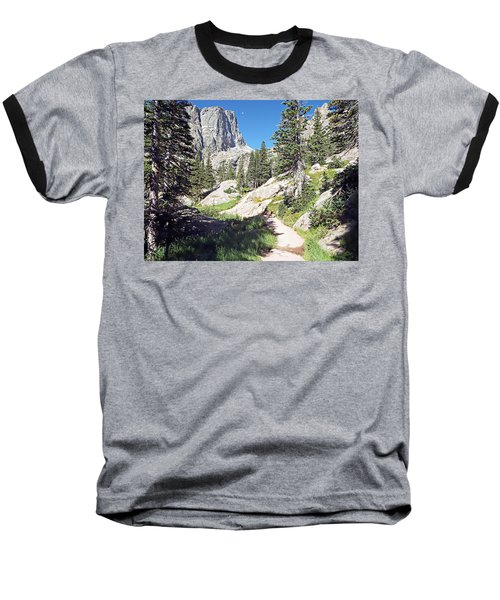 Emerald Lake Trail - Rocky Mountain National Park Baseball T-Shirt by Joseph Hendrix