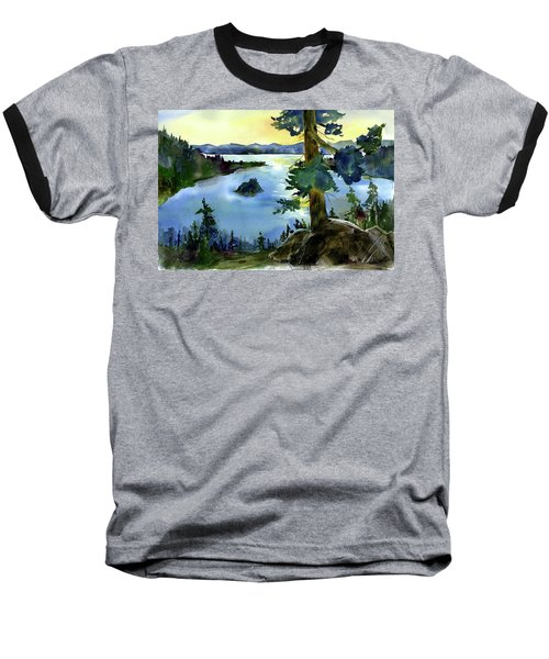 Emerald Morn, Lake Tahoe Baseball T-Shirt