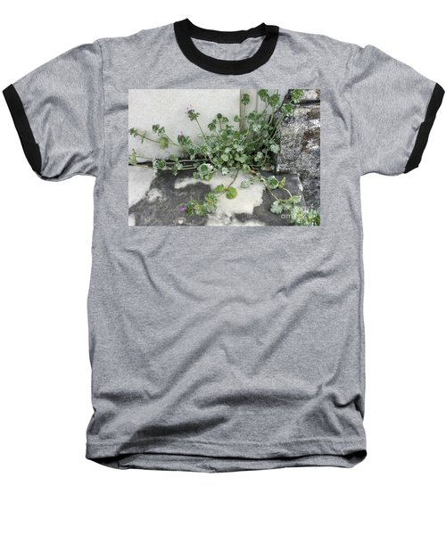 Baseball T-Shirt featuring the painting Emergence by Kim Nelson