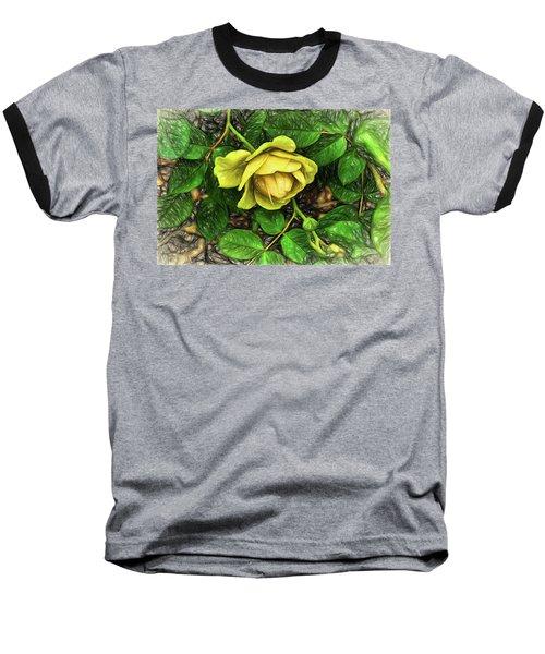 Baseball T-Shirt featuring the digital art Emergence by Terry Cork