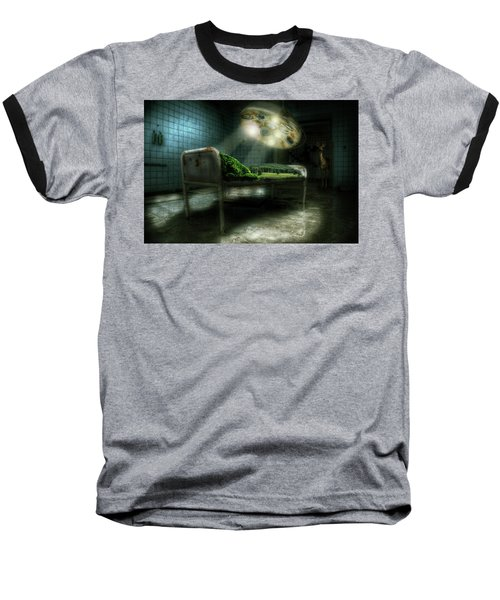 Baseball T-Shirt featuring the digital art Emergency Nature  by Nathan Wright