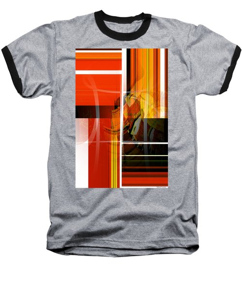 Emerging Concrete Life Baseball T-Shirt by Thibault Toussaint