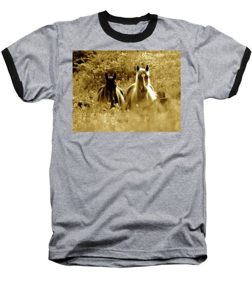 Emerging From The Farm Baseball T-Shirt