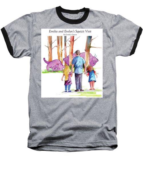 Emilia And Evelyn's Squizit Visit Baseball T-Shirt