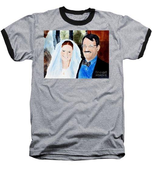 Emily And Jason Baseball T-Shirt