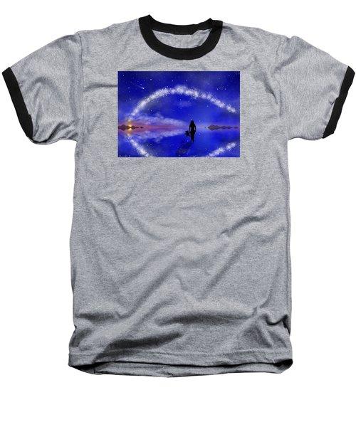 Baseball T-Shirt featuring the digital art Emily's Journey Part 1 by Bernd Hau