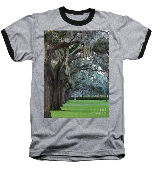 Emmet Park In Savannah Baseball T-Shirt