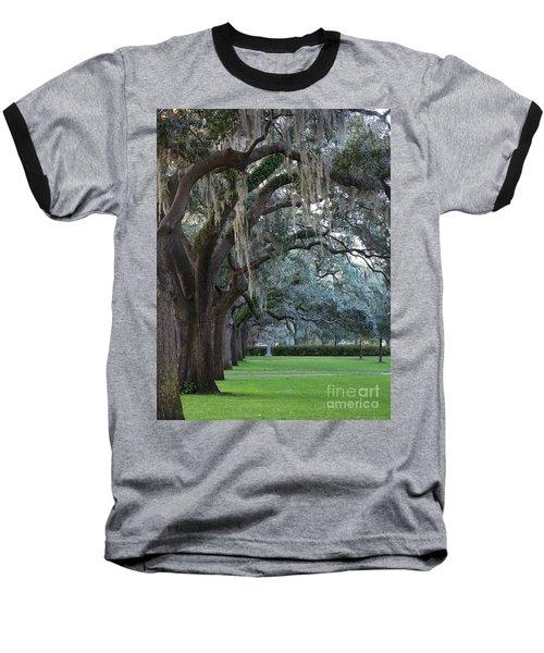 Emmet Park In Savannah Baseball T-Shirt