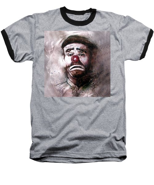 Emmit Kelly Clown Baseball T-Shirt