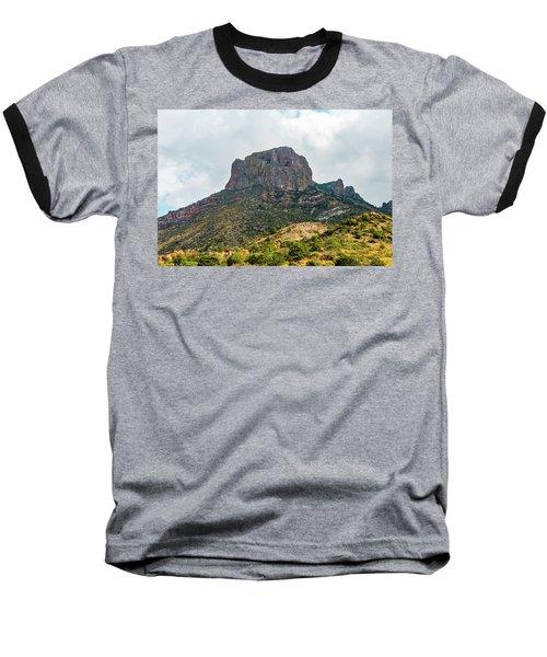 Emory Peak Chisos Mountains Baseball T-Shirt