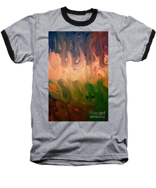 Emotion Acrylic Abstract Baseball T-Shirt