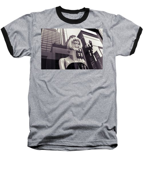 Baseball T-Shirt featuring the photograph Empty by Alex Lapidus