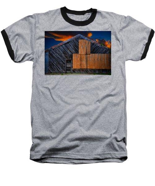 Empty Barn Baseball T-Shirt