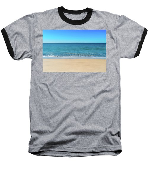 Empty Beach Baseball T-Shirt
