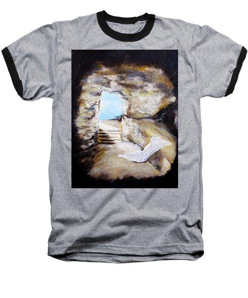 Empty Burial Tomb Baseball T-Shirt