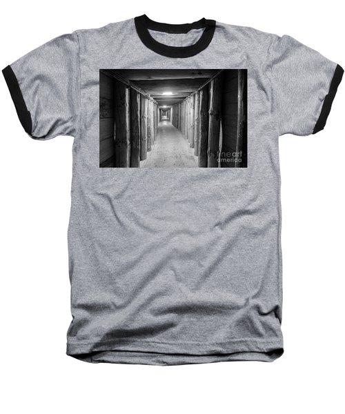 Baseball T-Shirt featuring the photograph Empty Corridor by Juli Scalzi