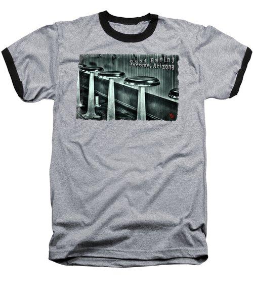 Empty Counter Stools Jerome Arizona Baseball T-Shirt