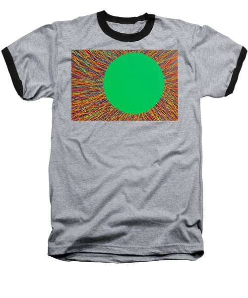 Baseball T-Shirt featuring the painting Empty Cup 1 by Kyung Hee Hogg