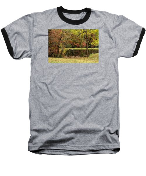 Baseball T-Shirt featuring the photograph Empty Dock by Barbara Bowen