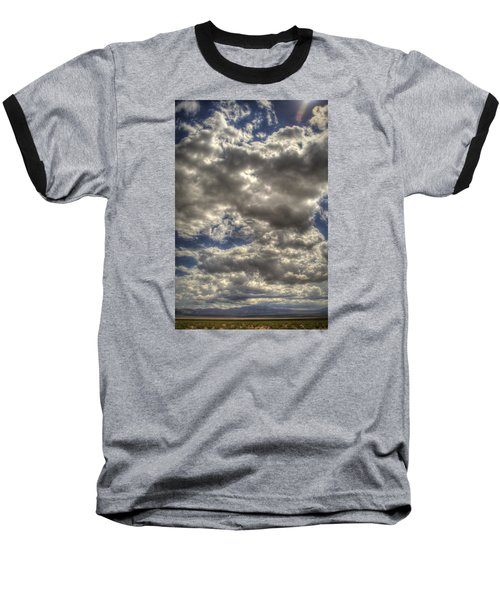 Empty Land Baseball T-Shirt