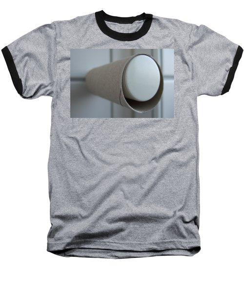 Empty Toilet Paper Roll Baseball T-Shirt