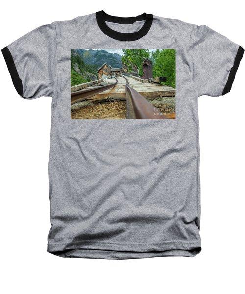 Empty Tracks Baseball T-Shirt