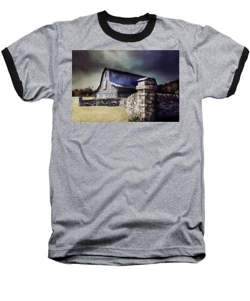 Empyrean Estate Stone Wall Baseball T-Shirt