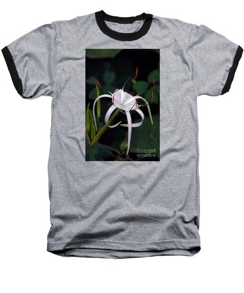En Pointe Baseball T-Shirt by Byron Varvarigos