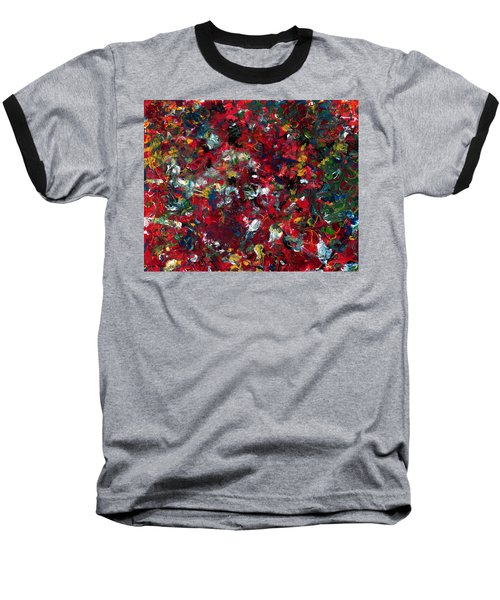 Enamel 1 Baseball T-Shirt by James W Johnson