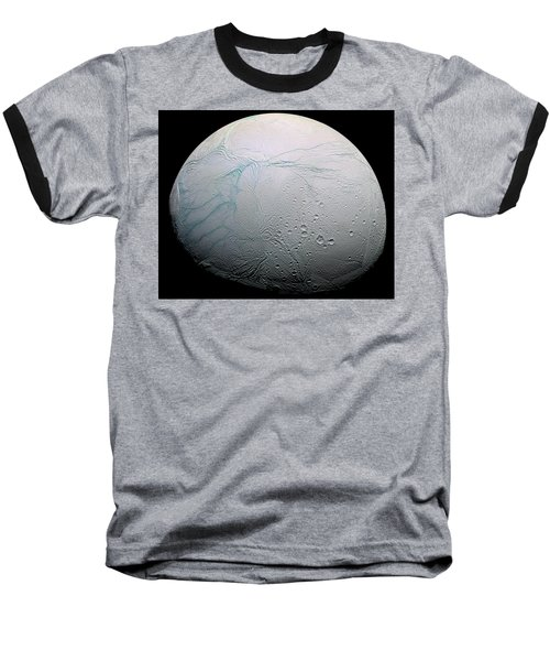 Baseball T-Shirt featuring the photograph Enceladus Hd by Adam Romanowicz